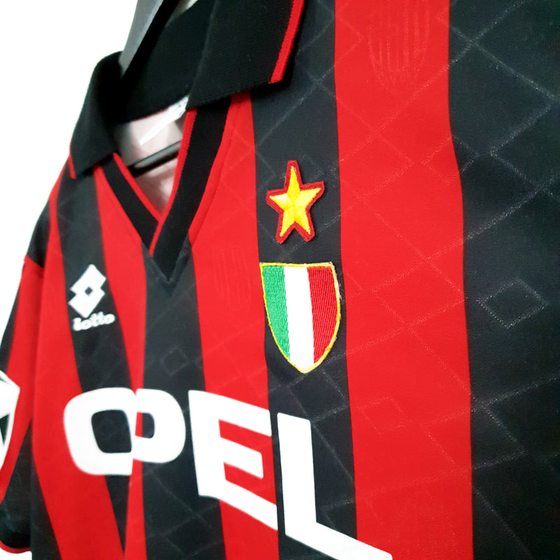 AC Milan european home football shirt 1994/95