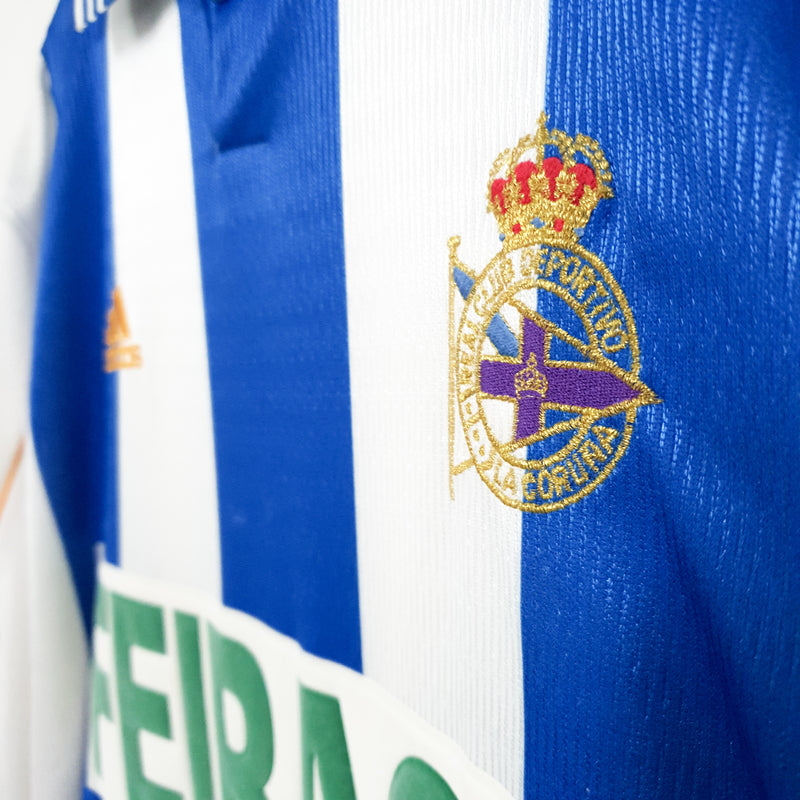Deportivo La Coruna home football shirt 1998/00