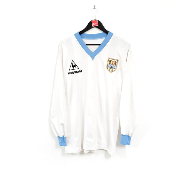 Uruguay away football shirt 1986/87