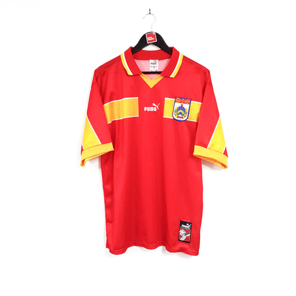 Macedonia home football shirt 1998/01