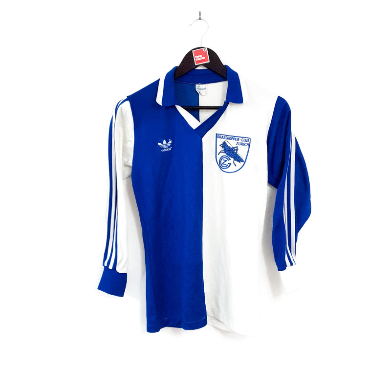 Grasshopper Club Zürich home football shirt 1981/84
