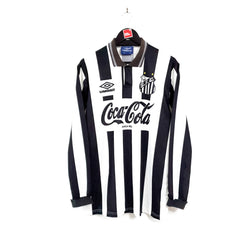 Santos away football shirt 1992/93