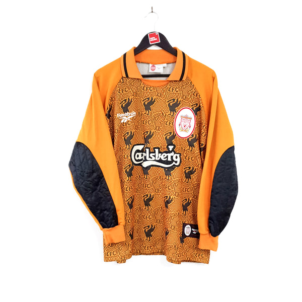 Liverpool goalkeeper football shirt 1996/97