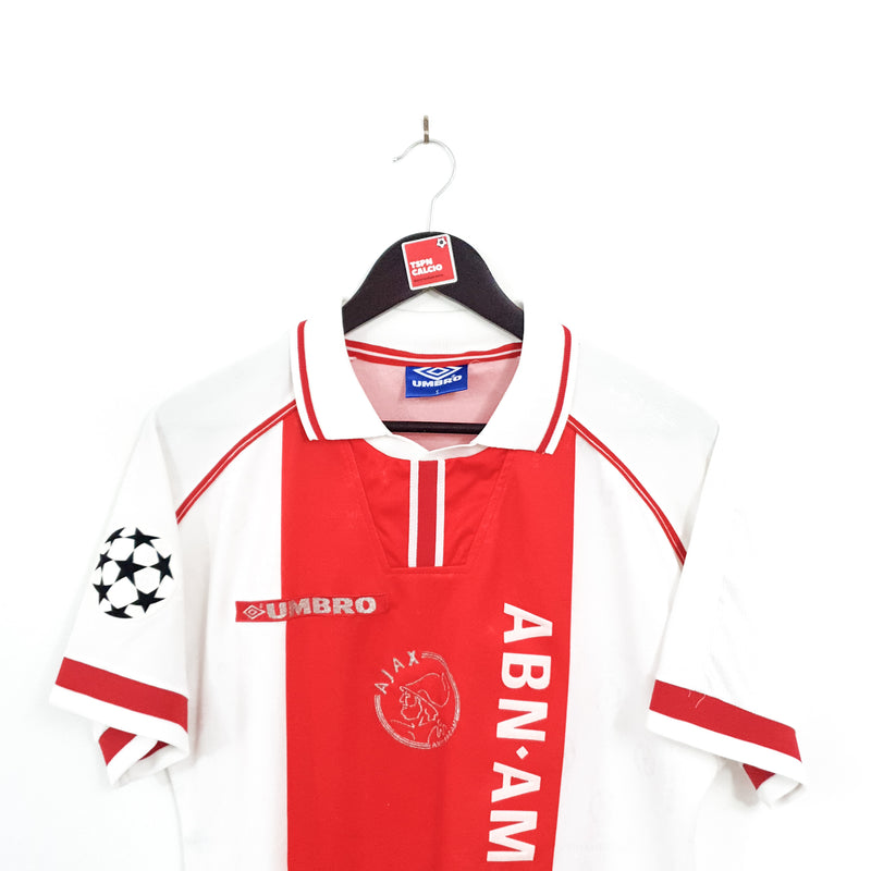 Ajax Amsterdam CL home football shirt 1998/99