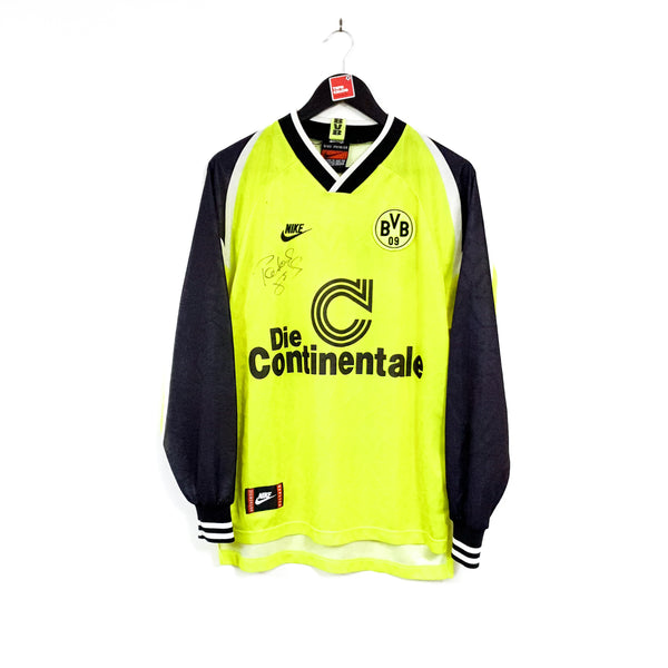 Borussia Dortmund signed home football shirt 1995/96