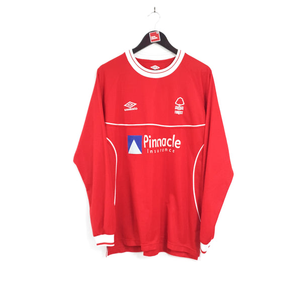 Nottingham Forest home football shirt 2000/02