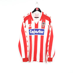 Sporting Gijon home football shirt 1991/93