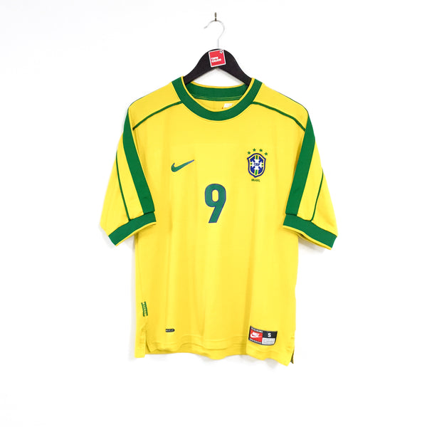 Brazil home football shirt 1998/00