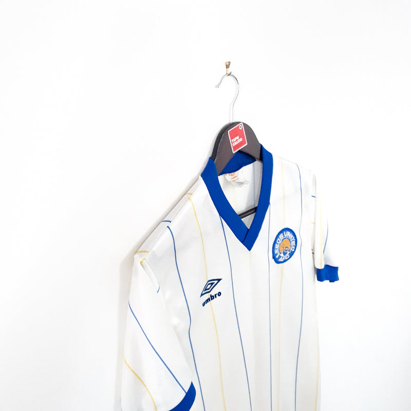 Leeds United home football shirt 1981/84