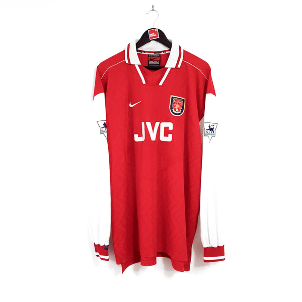 Arsenal home football shirt 1996/98