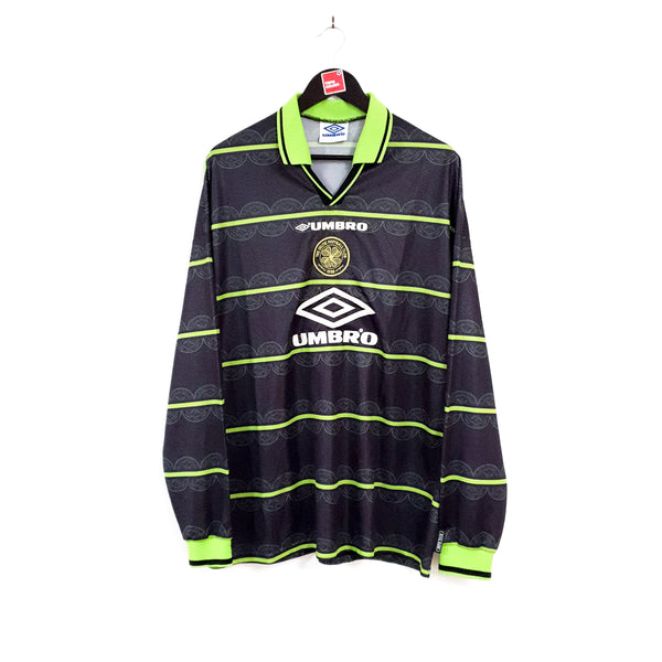 Glasgow Celtic away football shirt 1998/99