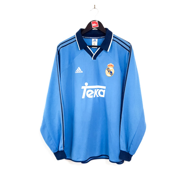 Real Madrid alternate football shirt 1999/01
