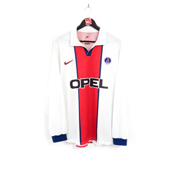 Paris Saint Germain european away football shirt 1998/99