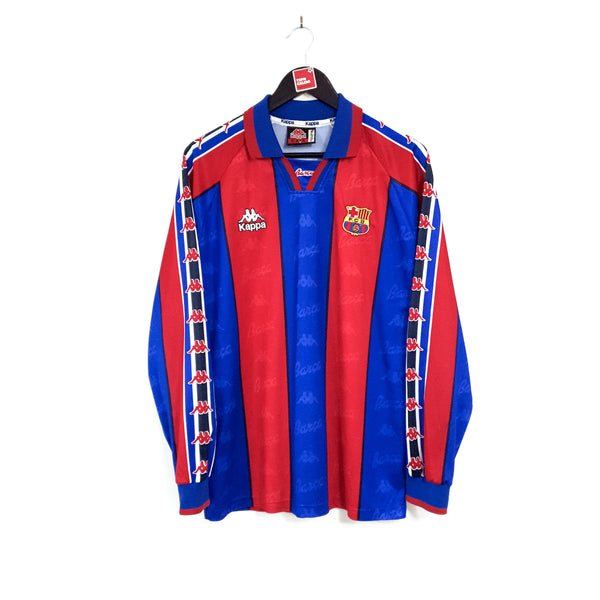 Barcelona home football shirt 1995/97
