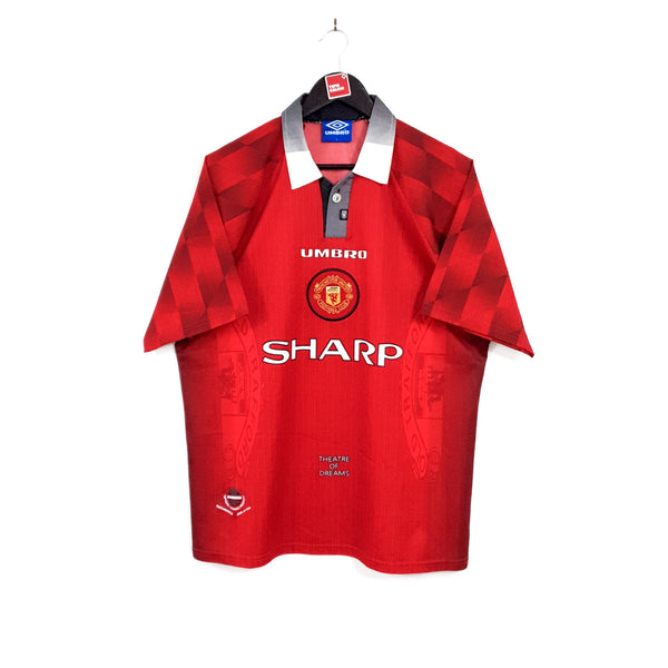 Manchester United home football shirt 1996/98