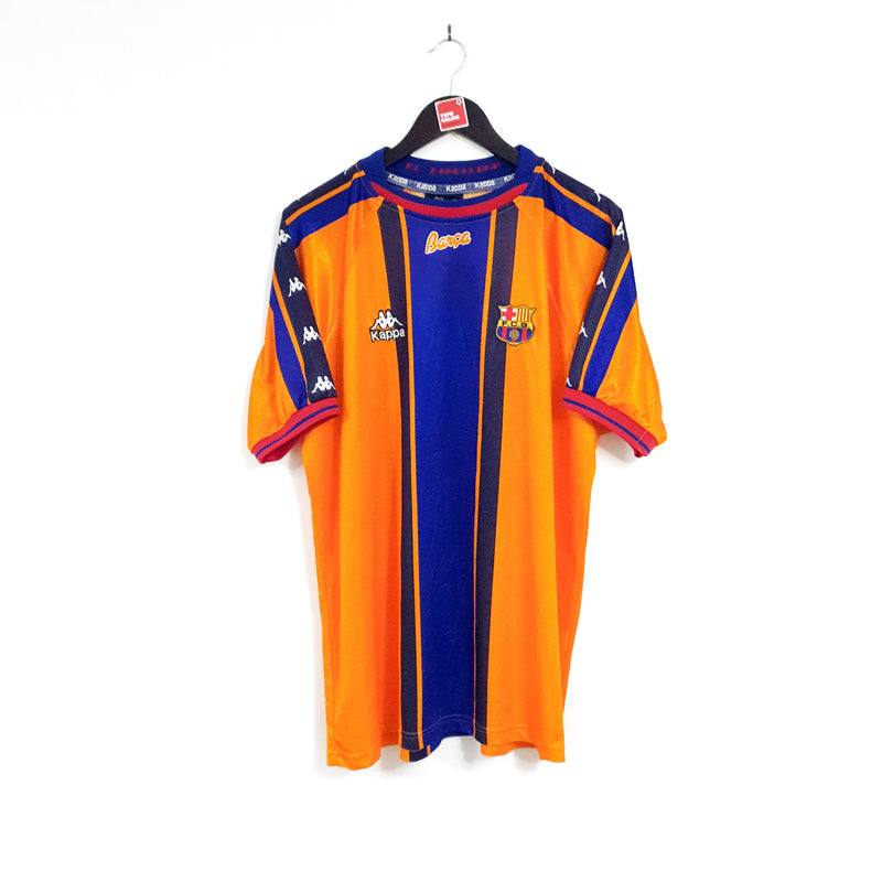 Barcelona away football full kit 1997/98