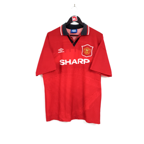 Manchester United home football shirt 1994/96