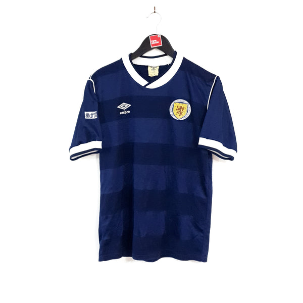 Scotland home football shirt 1985/88