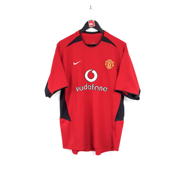 Manchester United home football shirt 2002/04