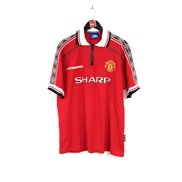 Manchester United home football shirt 1998/00