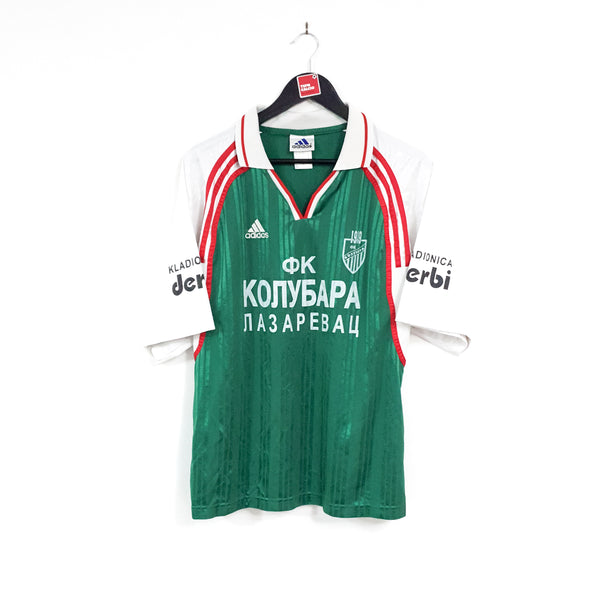 FK Kolubara away football shirt 1998/00