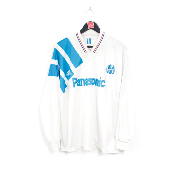 Olympique Marseille home football shirt 1991/92