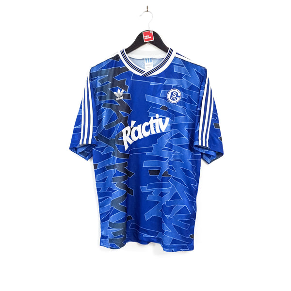 Schalke 04 home football shirt 1992/93