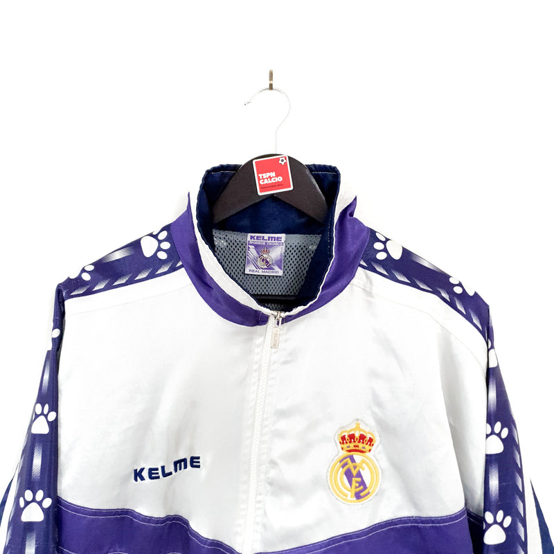 Real Madrid football tracksuit jacket 1996/97