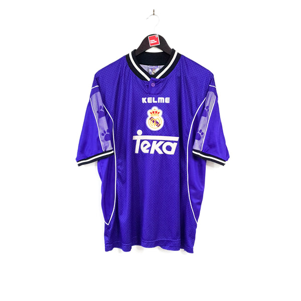 Real Madrid away football shirt 1997/98