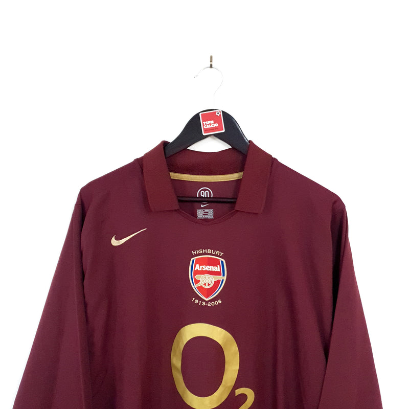 Arsenal home football shirt 2005/06