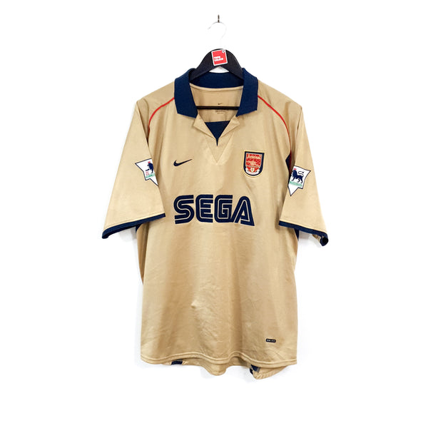 Arsenal away football shirt 2001/02