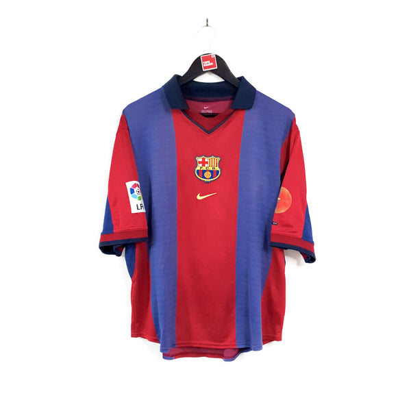 Barcelona home football shirt 2000/01
