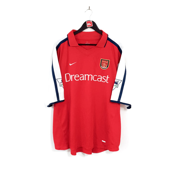 Arsenal home football shirt 2000/02