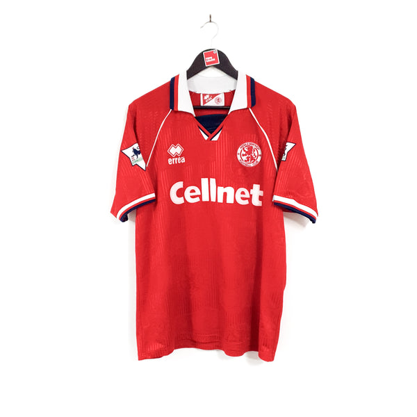 Middlesbrough home football shirt 1995/96