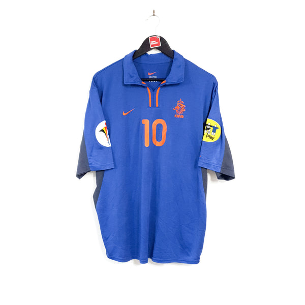 Netherlands away football shirt 2000/02