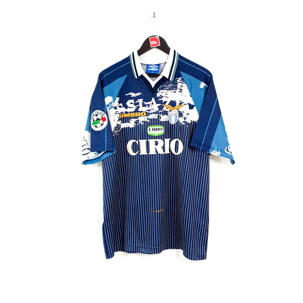 Lazio away football shirt 1996/97