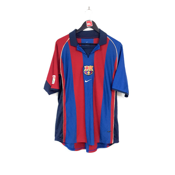 Barcelona home football shirt 2001/02