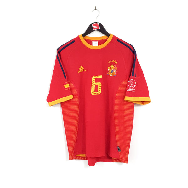 Spain home football shirt 2002/04