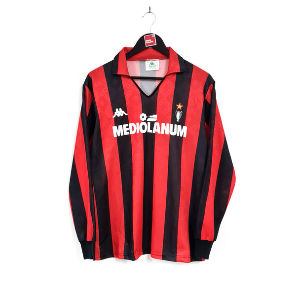 AC Milan home football shirt 1989/90