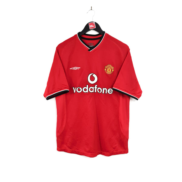 Manchester United home football shirt 2000/02