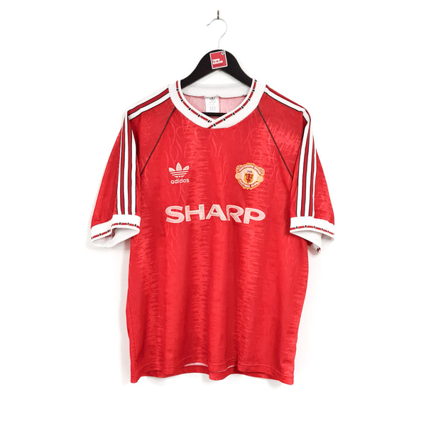 Manchester United home football shirt 1990/92
