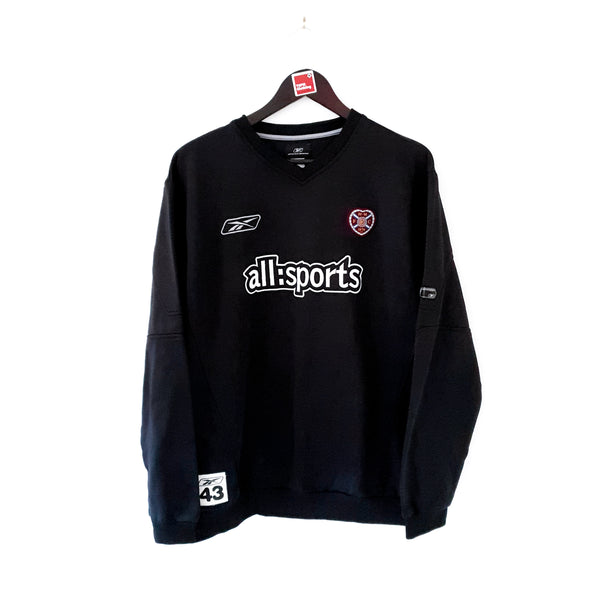 TSPN Calcio - Heart of Midlothian training football sweatshirt 2004/05