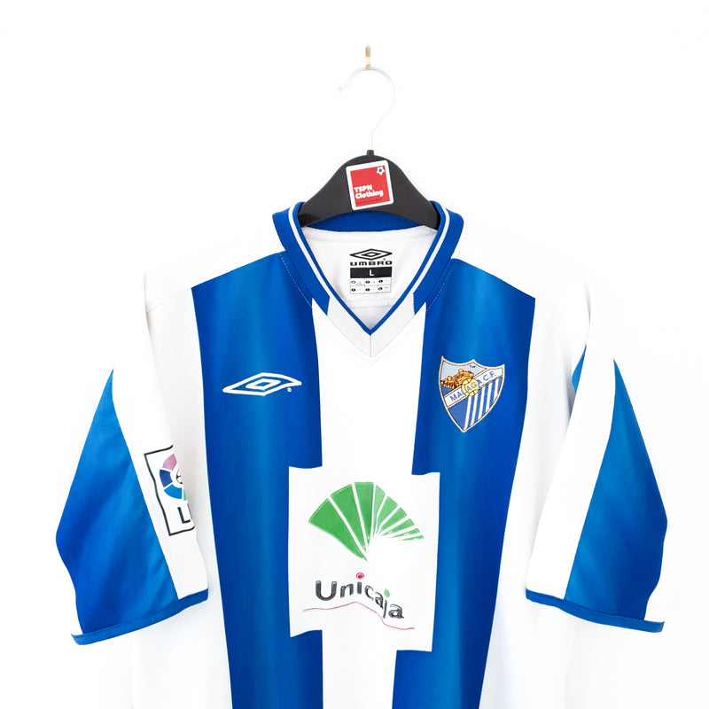 TSPN Calcio - Malaga home football shirt 2003/04