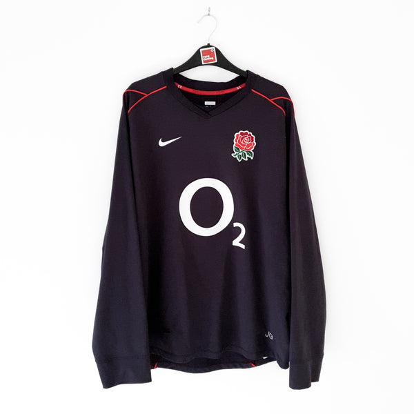 TSPN Calcio - England training rugby sweatshirt 2010/11
