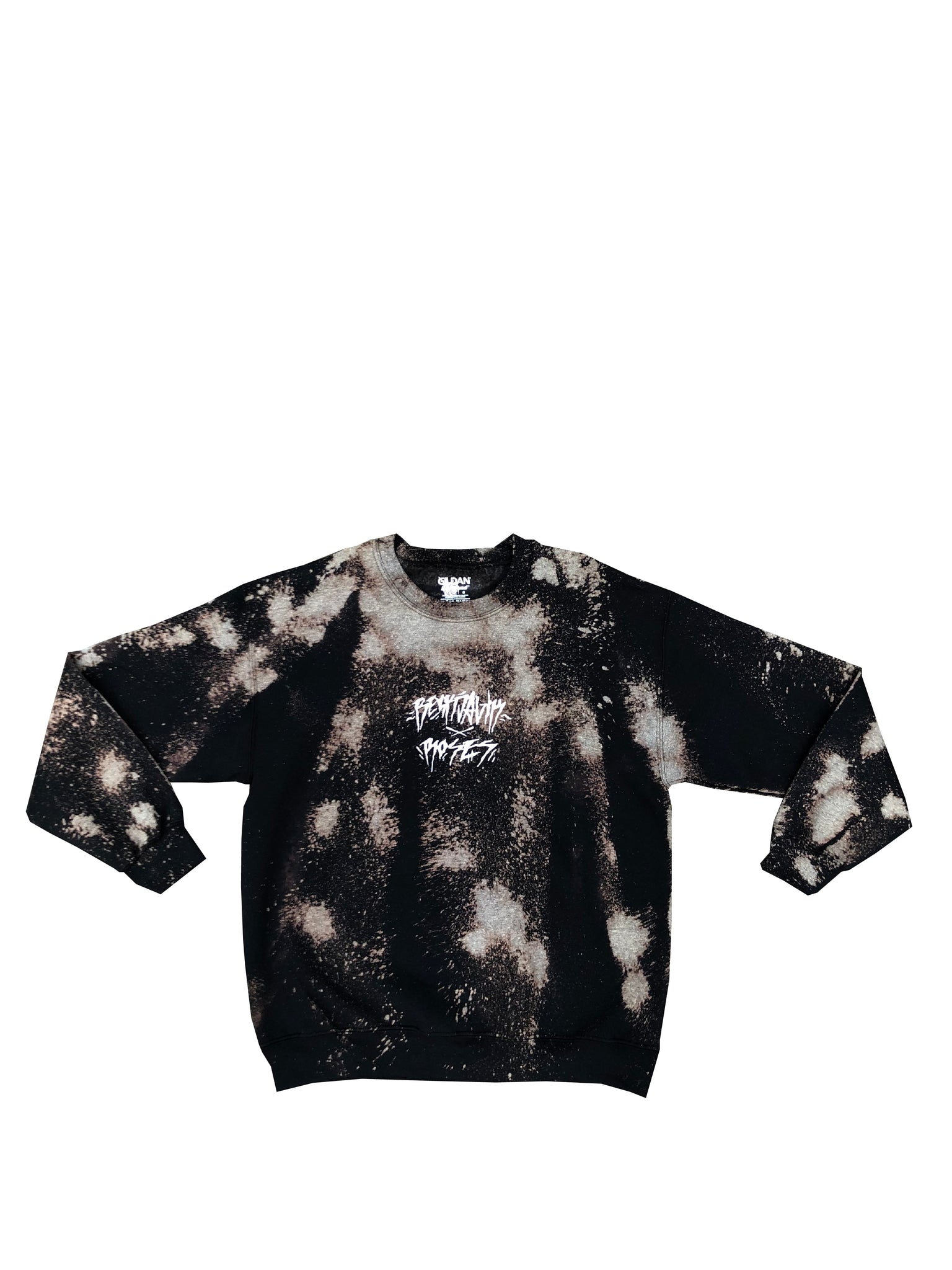 Bleached Crew Neck