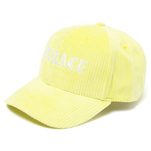 Yellow Corduroy Hat