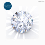 Diamond, Brilliant, 1.23 Carat, F-SI1