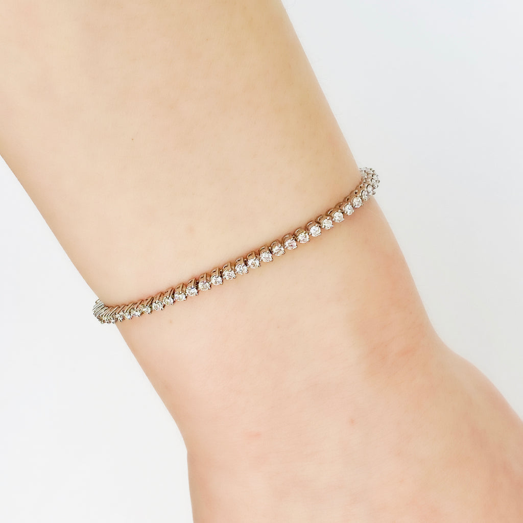 Pure Diamonds bracelet - Small diamond size