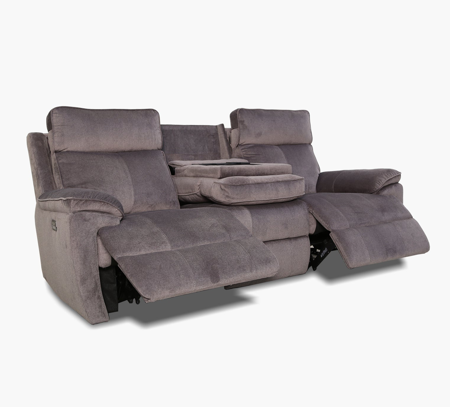 Excellent Berkley Triple Power Reclining Sofa With Itable Kanes Dailytribune Chair Design For Home Dailytribuneorg