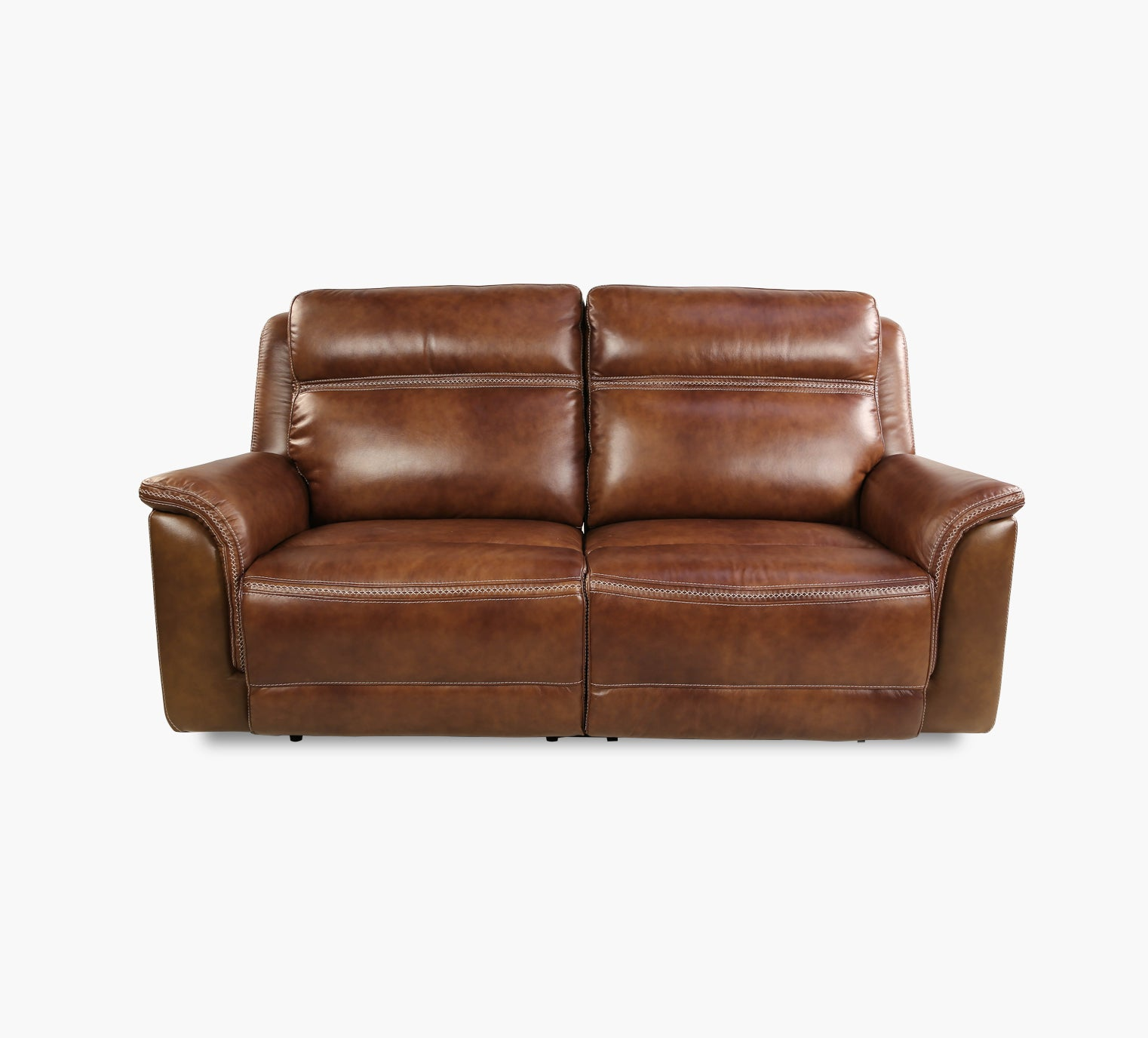 Sequoia Leather Dual Power Reclining Sofa